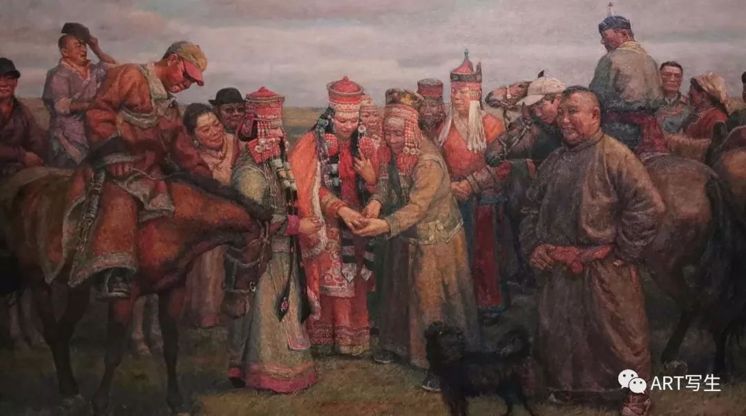 第十三届内蒙古自治区美术作品展览(油画作品) 第77张