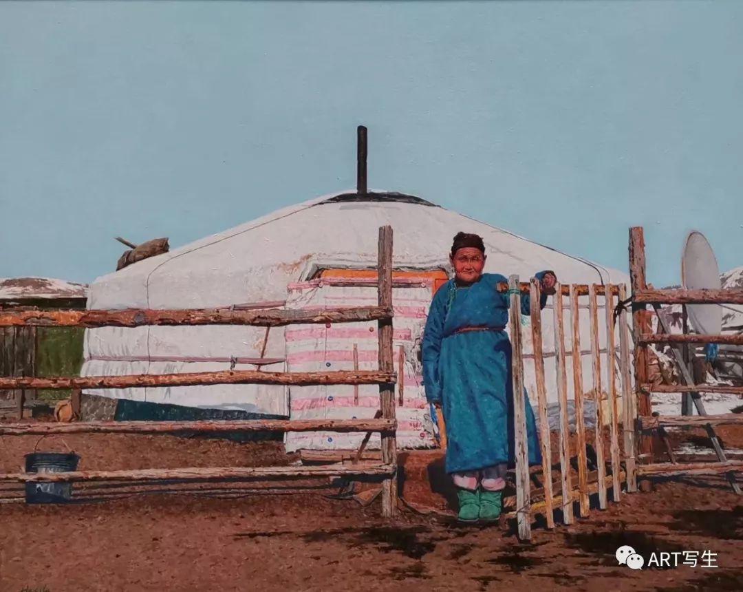 第十三届内蒙古自治区美术作品展览(油画作品) 第79张