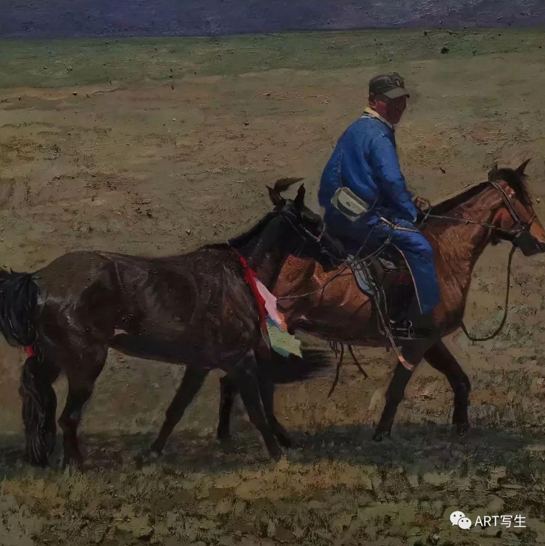 第十三届内蒙古自治区美术作品展览(油画作品) 第80张