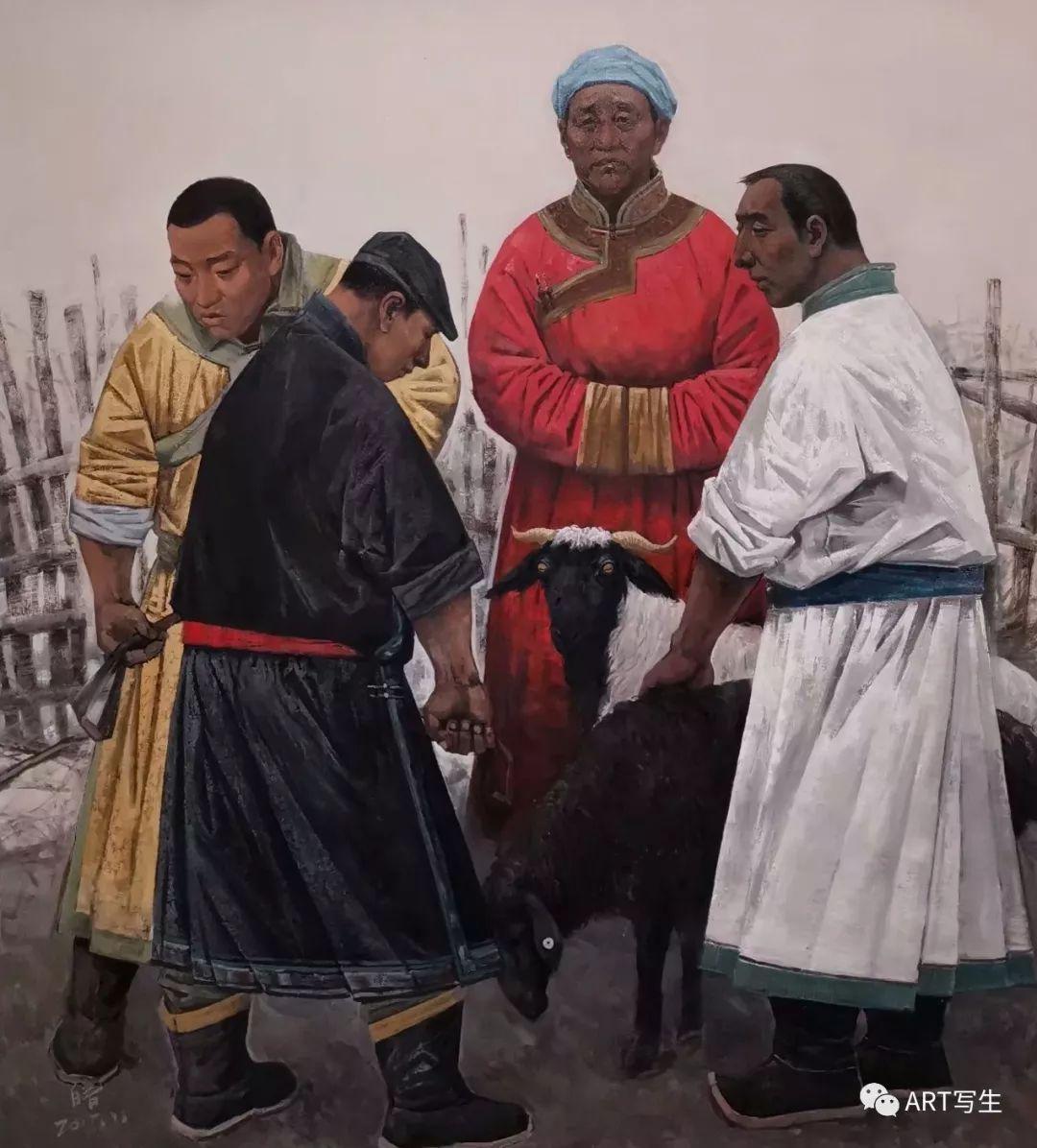 第十三届内蒙古自治区美术作品展览(油画作品) 第82张