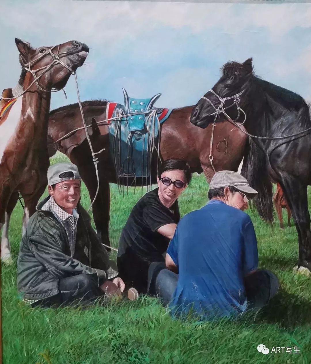 第十三届内蒙古自治区美术作品展览(油画作品) 第89张