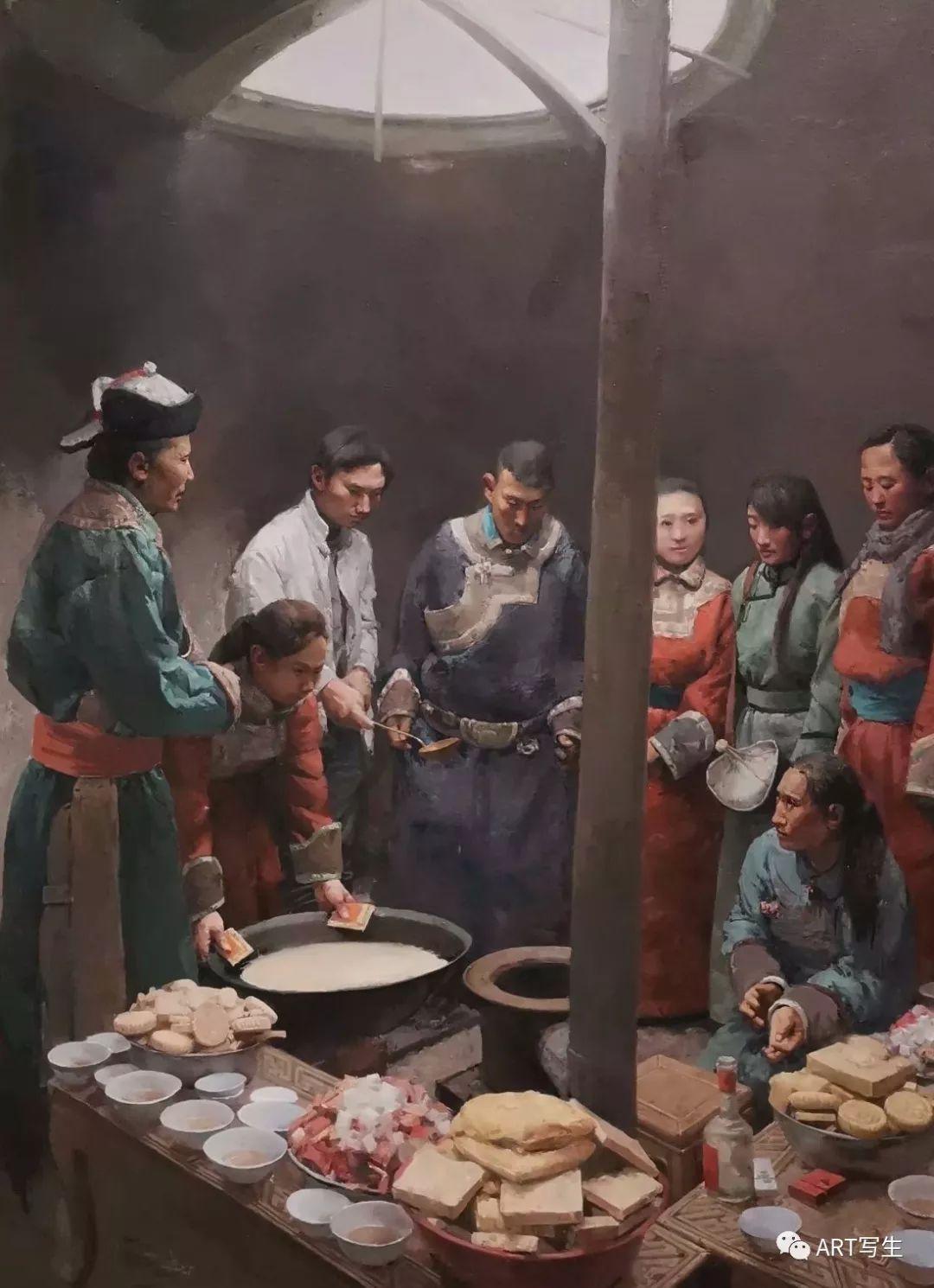 第十三届内蒙古自治区美术作品展览(油画作品) 第91张
