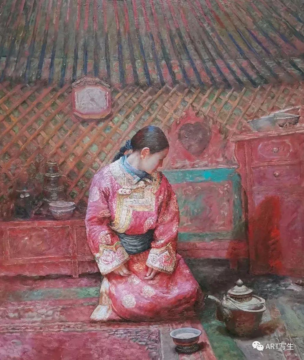 第十三届内蒙古自治区美术作品展览(油画作品) 第90张