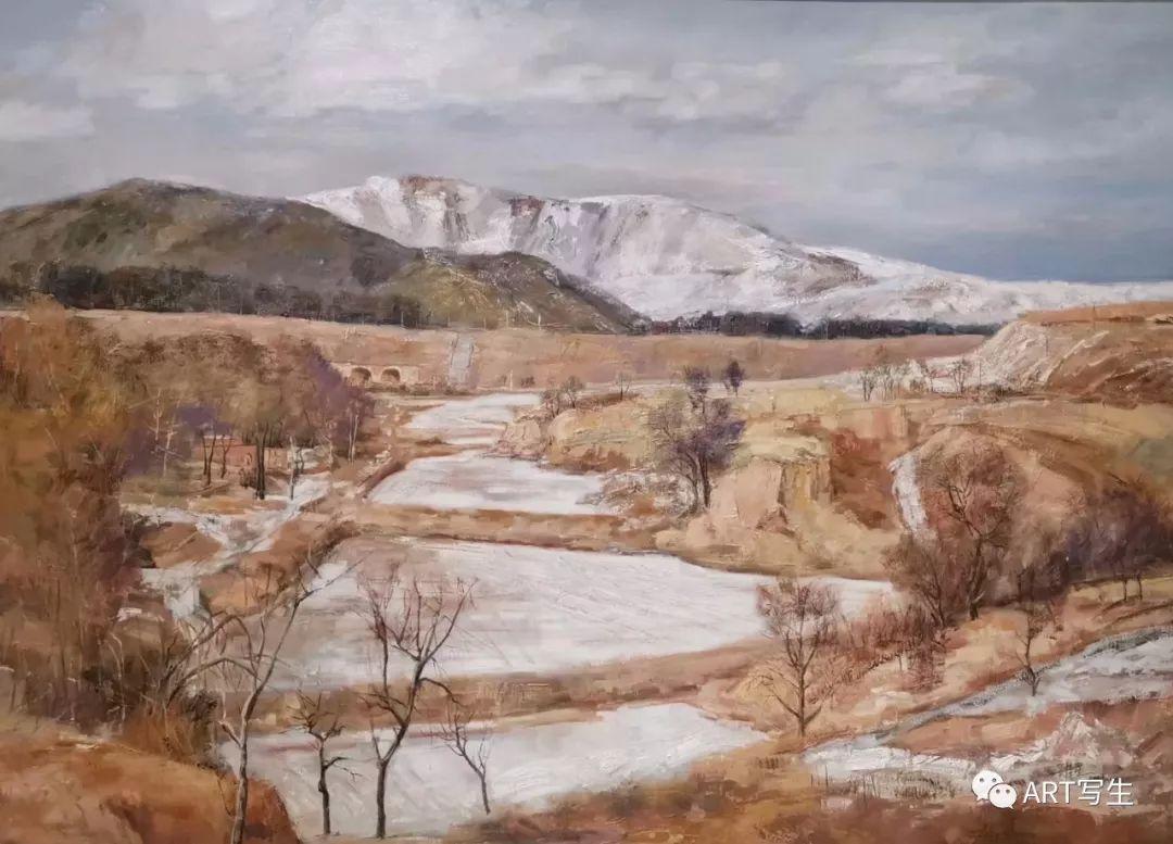 第十三届内蒙古自治区美术作品展览(油画作品) 第92张