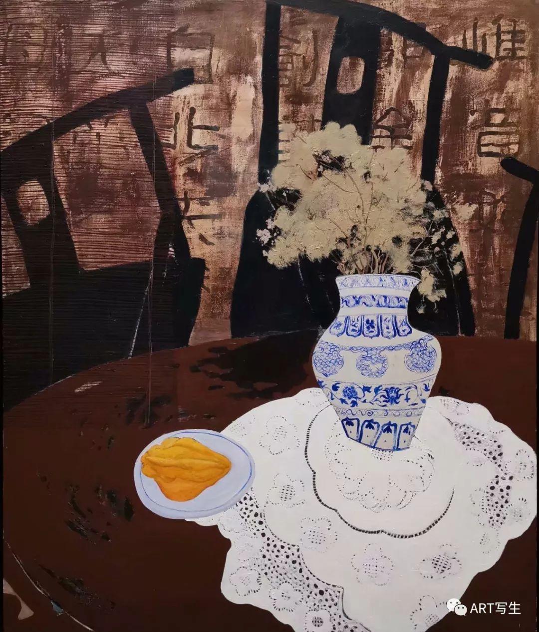 第十三届内蒙古自治区美术作品展览(油画作品) 第94张