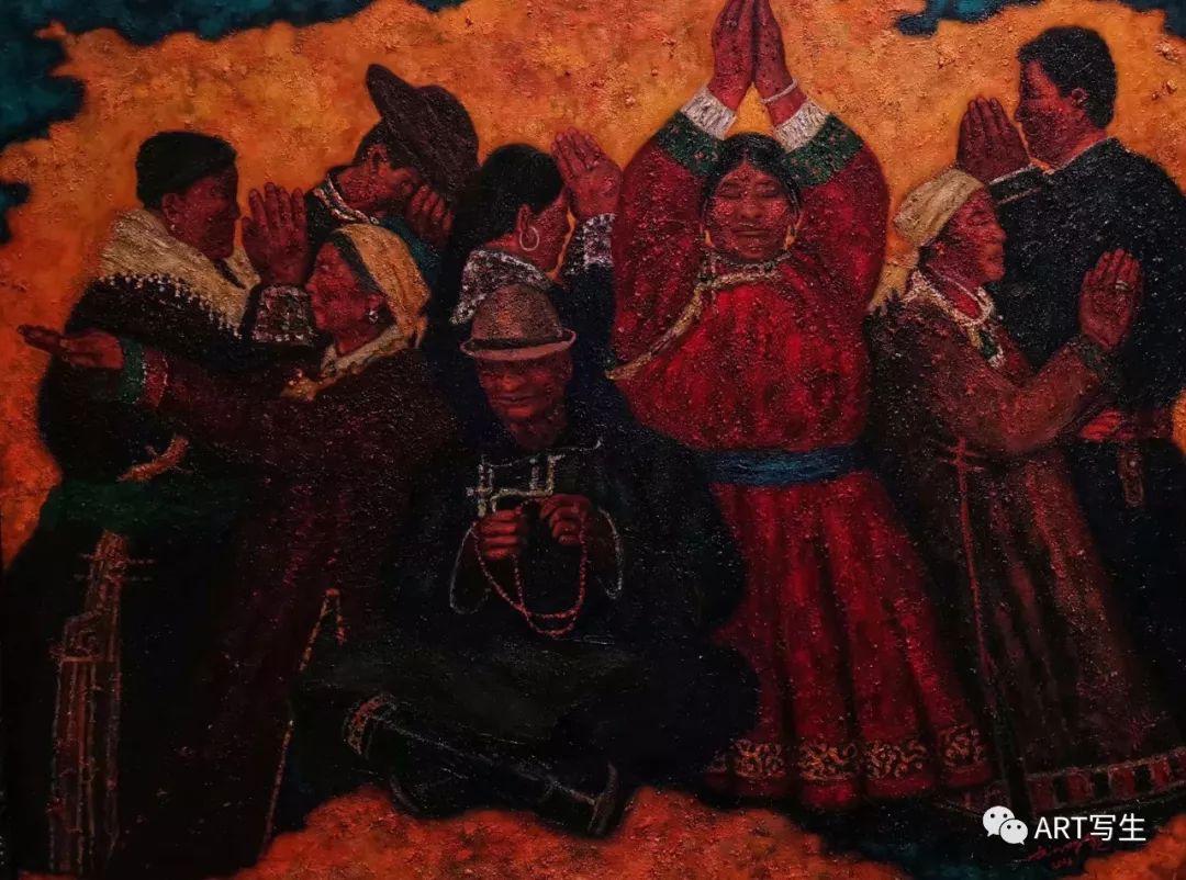 第十三届内蒙古自治区美术作品展览(油画作品) 第93张