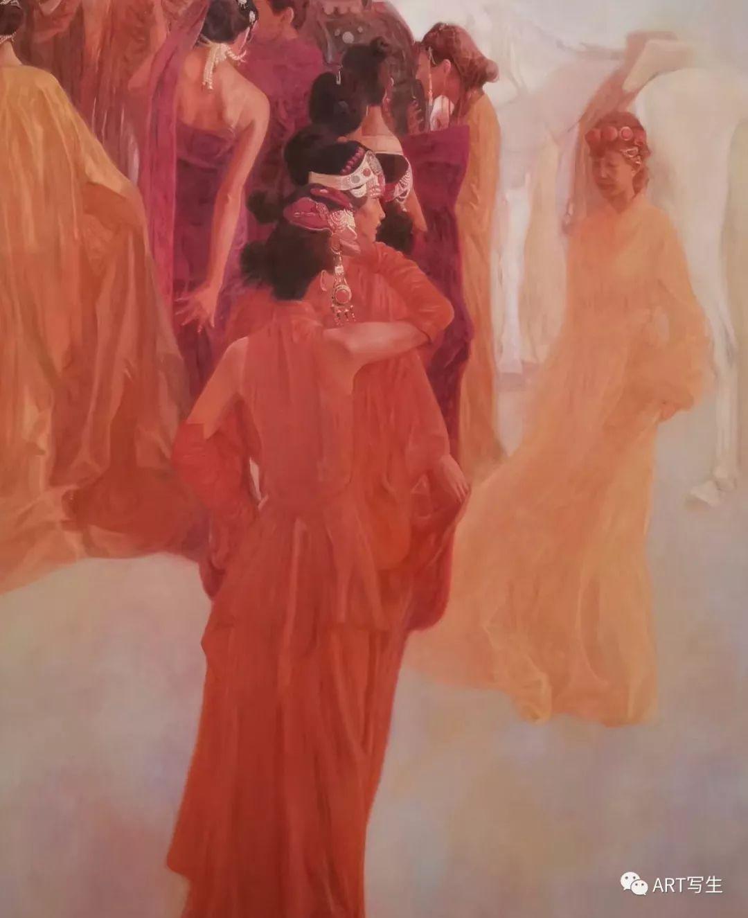 第十三届内蒙古自治区美术作品展览(油画作品) 第96张