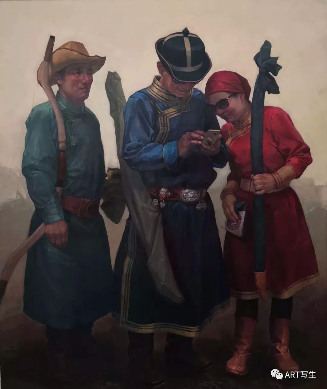 第十三届内蒙古自治区美术作品展览(油画作品) 第98张