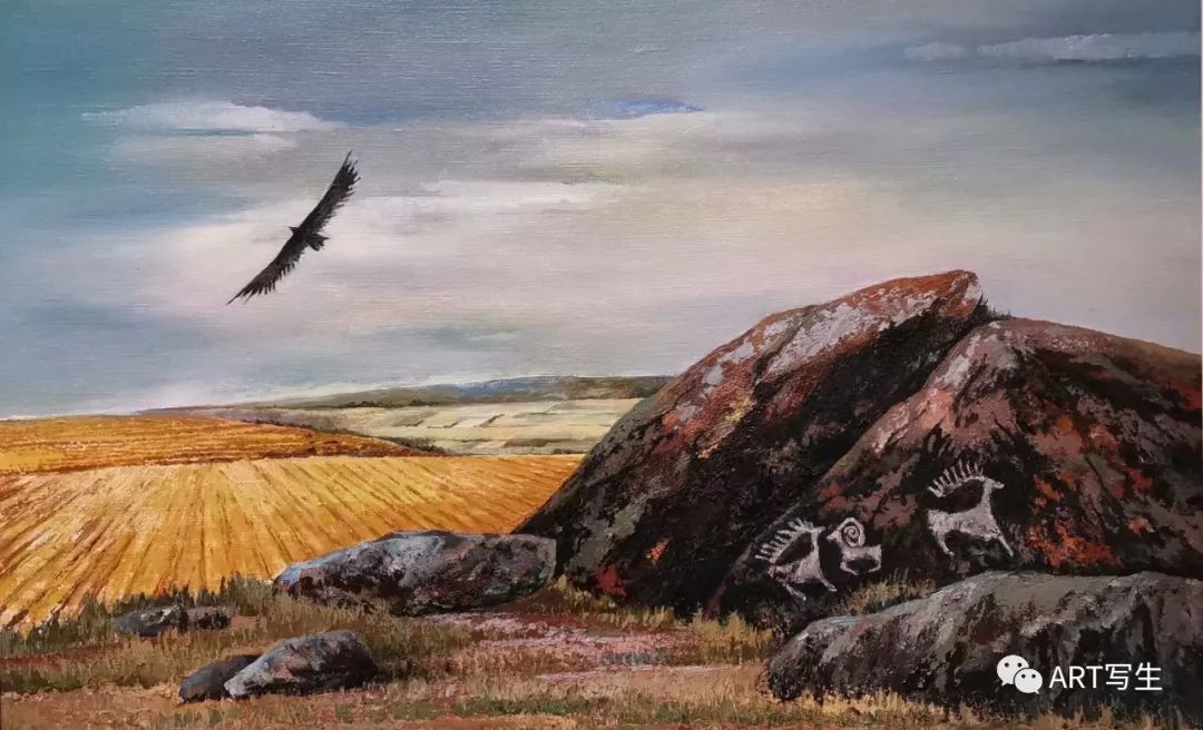 第十三届内蒙古自治区美术作品展览(油画作品) 第99张