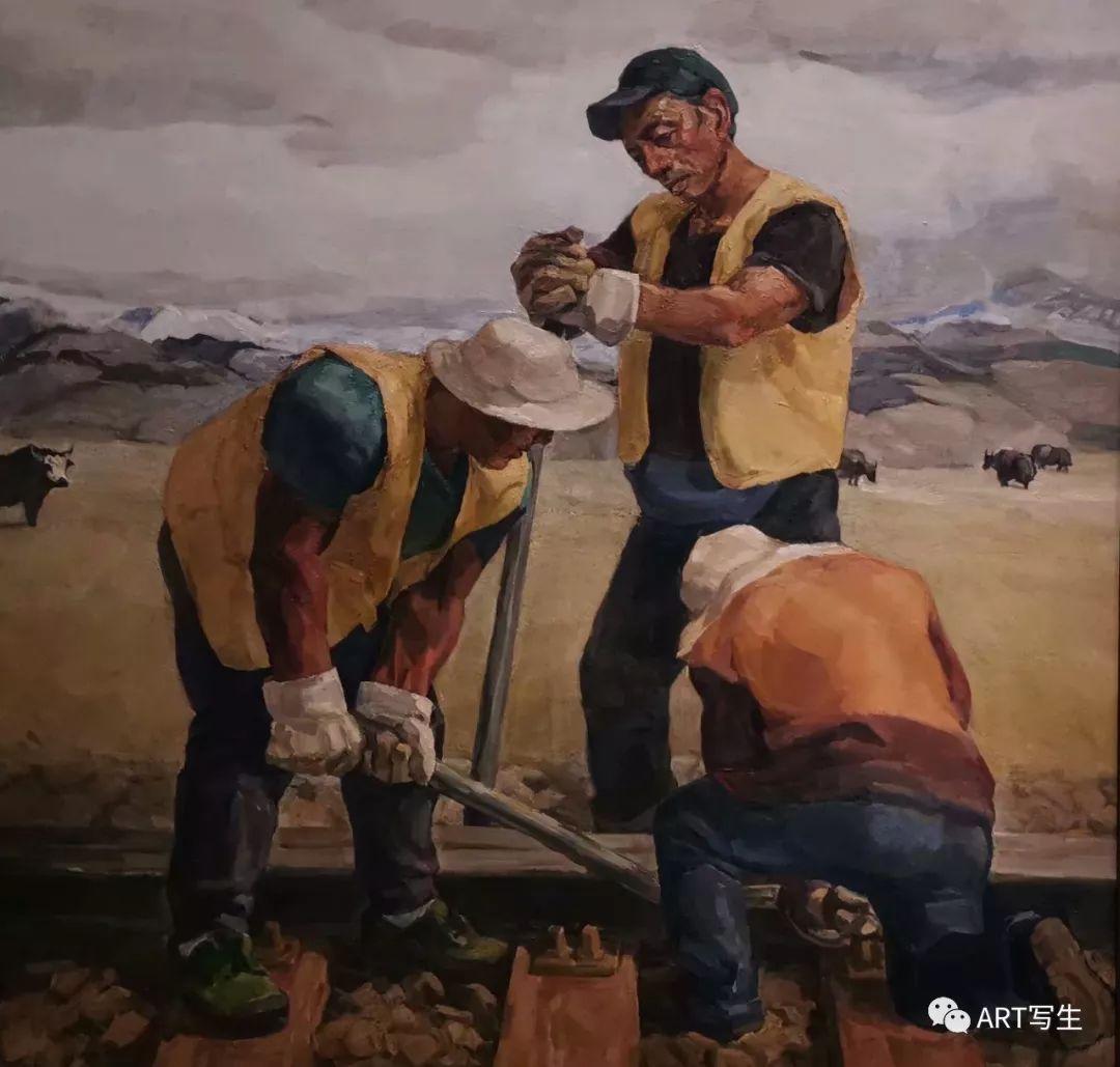 第十三届内蒙古自治区美术作品展览(油画作品) 第102张