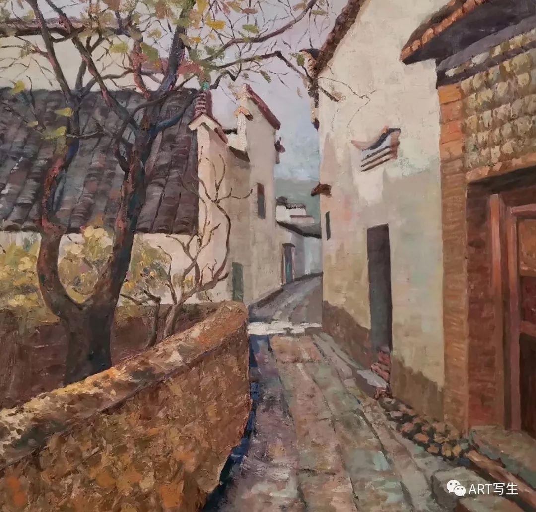 第十三届内蒙古自治区美术作品展览(油画作品) 第101张