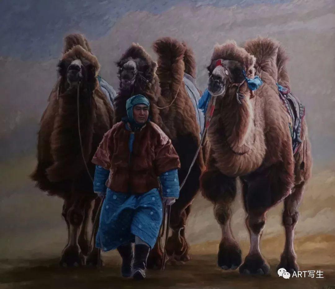 第十三届内蒙古自治区美术作品展览(油画作品) 第106张
