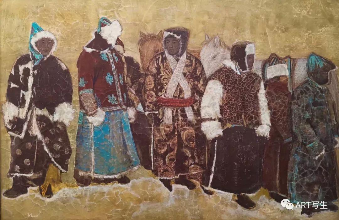 第十三届内蒙古自治区美术作品展览(油画作品) 第112张