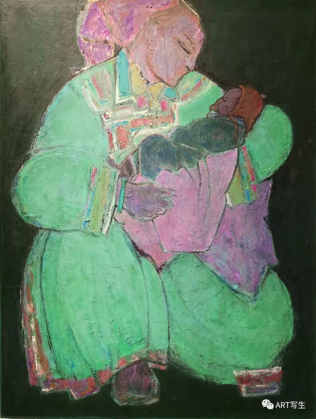 第十三届内蒙古自治区美术作品展览(油画作品) 第116张