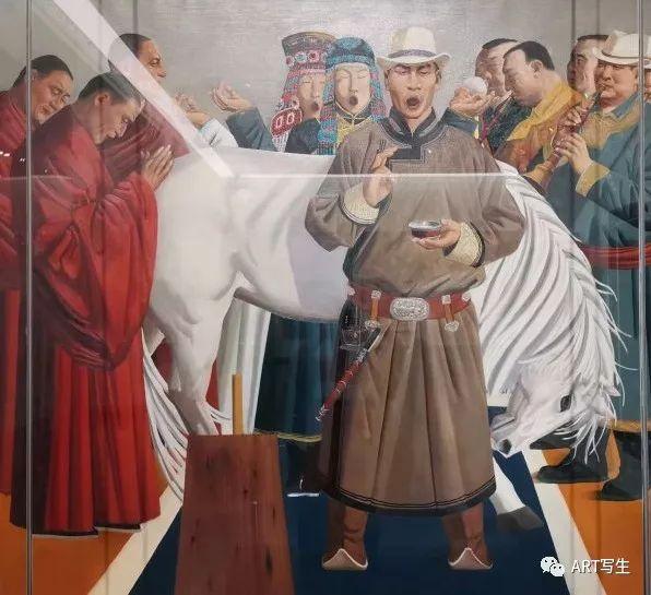 第十三届内蒙古自治区美术作品展览(油画作品) 第119张