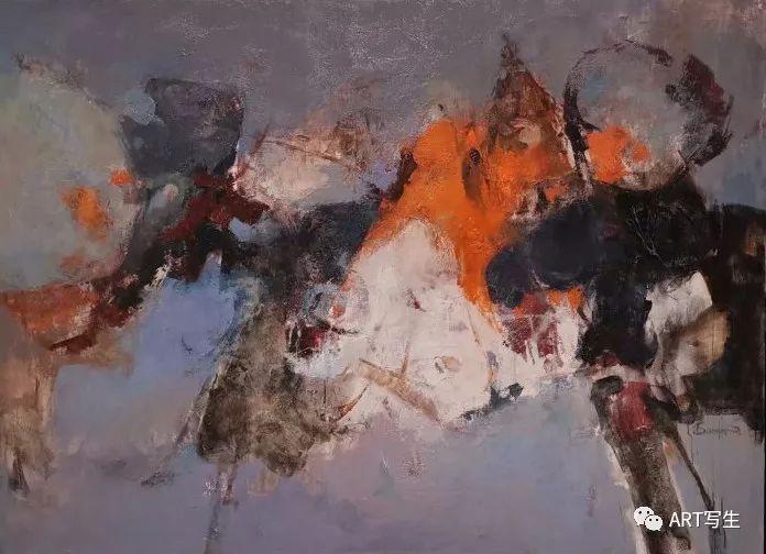 第十三届内蒙古自治区美术作品展览(油画作品) 第124张