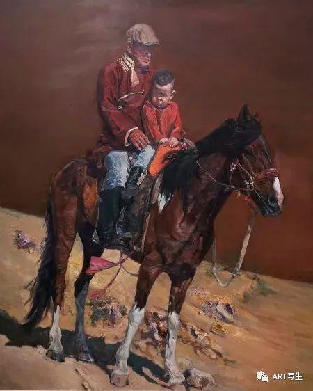 第十三届内蒙古自治区美术作品展览(油画作品) 第131张
