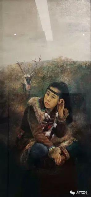 第十三届内蒙古自治区美术作品展览(油画作品) 第138张