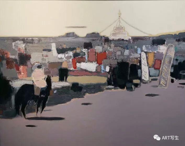 第十三届内蒙古自治区美术作品展览(油画作品) 第144张