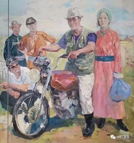 第十三届内蒙古自治区美术作品展览(油画作品) 第145张
