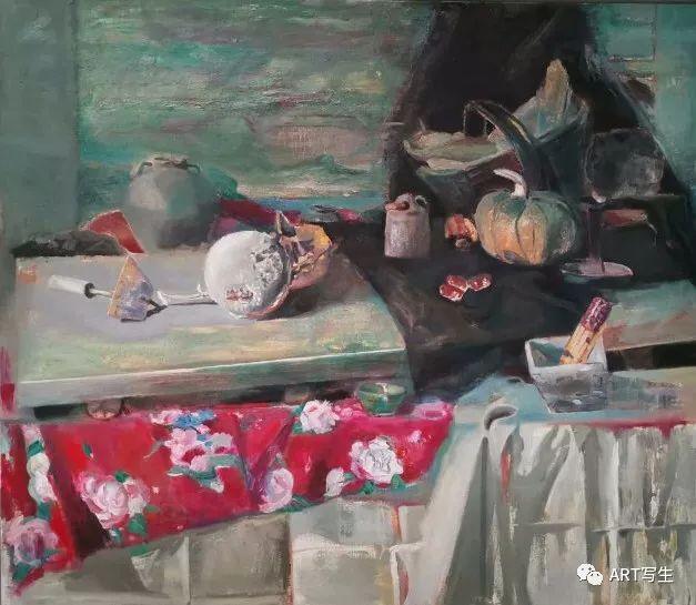 第十三届内蒙古自治区美术作品展览(油画作品) 第147张