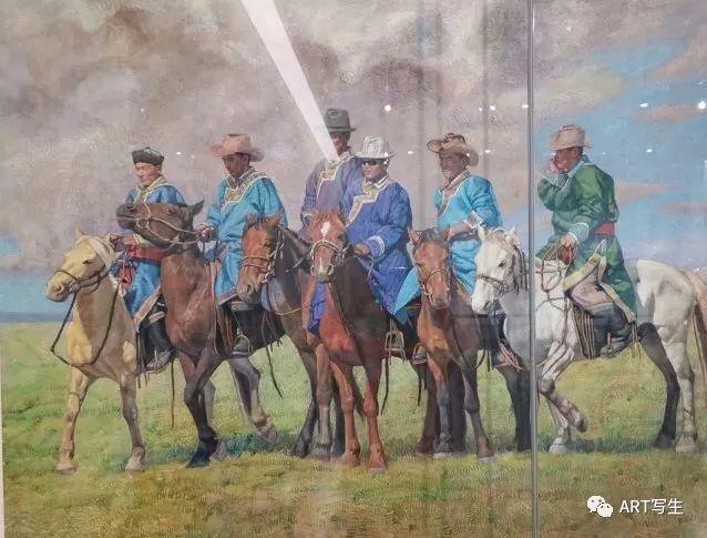 第十三届内蒙古自治区美术作品展览(油画作品) 第154张