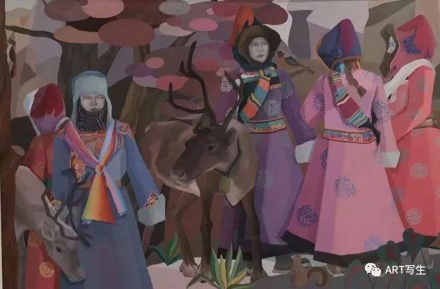 第十三届内蒙古自治区美术作品展览(油画作品) 第155张