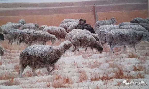 第十三届内蒙古自治区美术作品展览(油画作品) 第156张