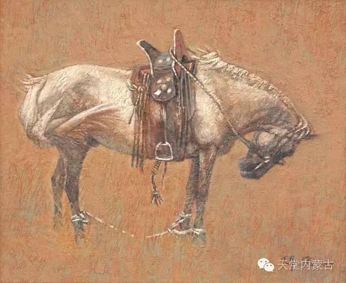 🔴内蒙古油画家--周宇油画作品 第9张