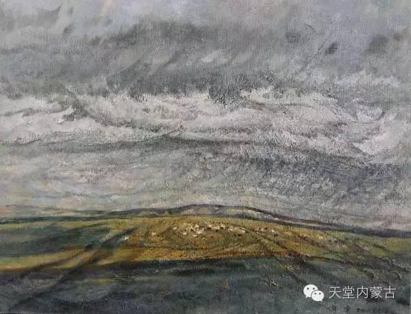 🔴内蒙古油画家--周宇油画作品 第8张