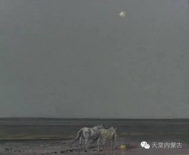 🔴内蒙古油画家--周宇油画作品 第6张