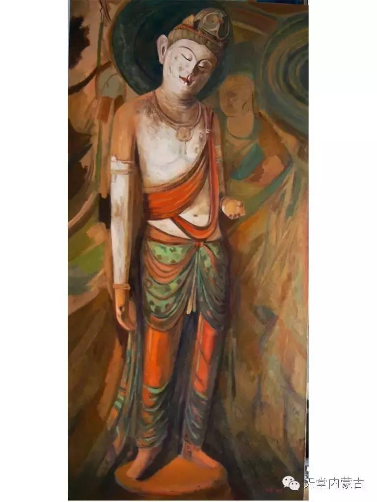 🔴内蒙古画家刘东油画作品 第4张 🔴内蒙古画家刘东油画作品 蒙古画廊