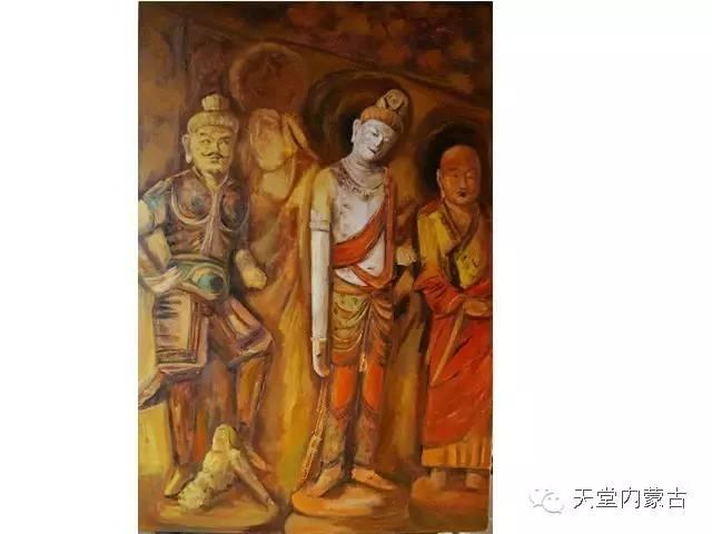 🔴内蒙古画家刘东油画作品 第6张 🔴内蒙古画家刘东油画作品 蒙古画廊