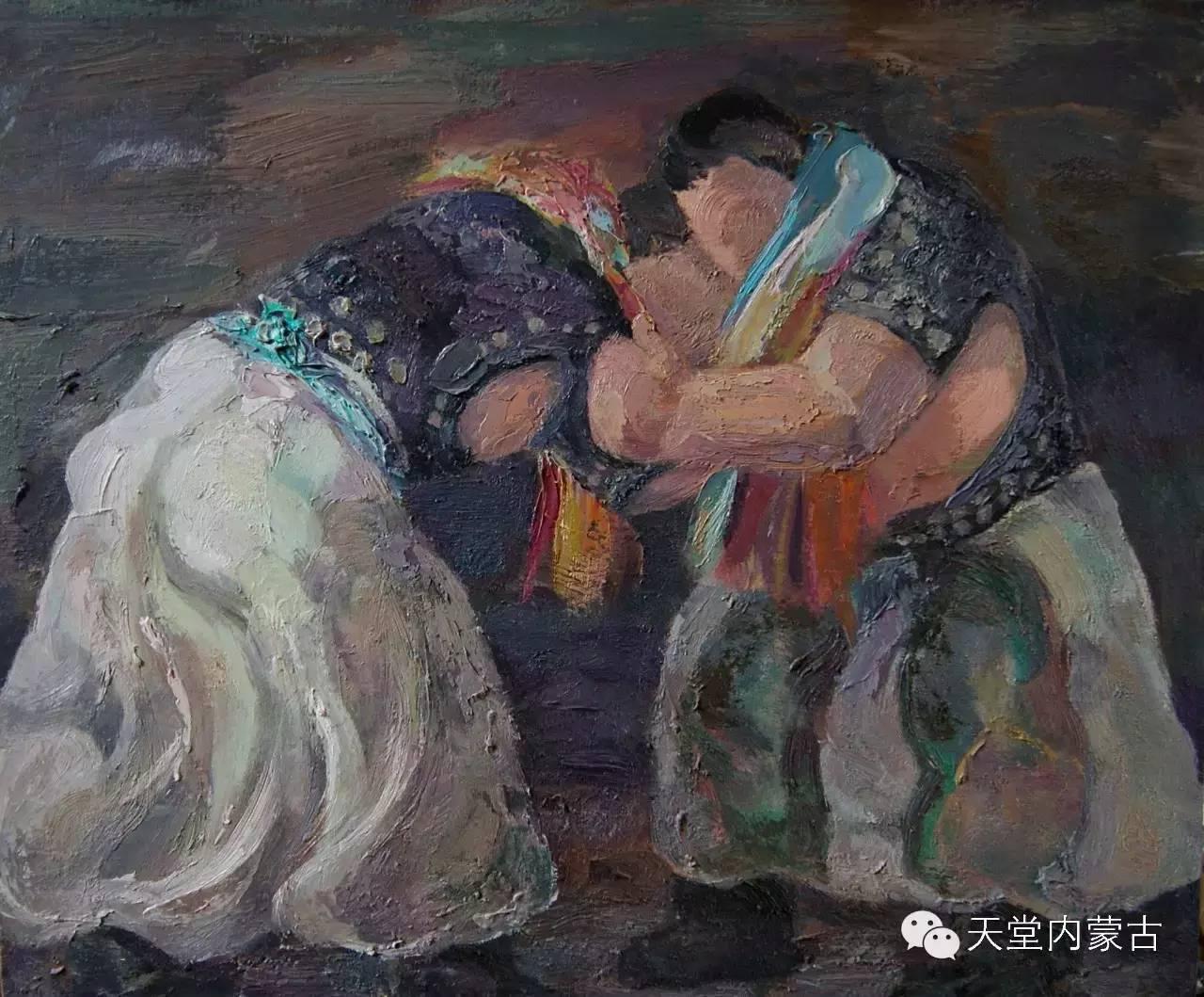 🔴内蒙古画家刘东油画作品 第5张 🔴内蒙古画家刘东油画作品 蒙古画廊