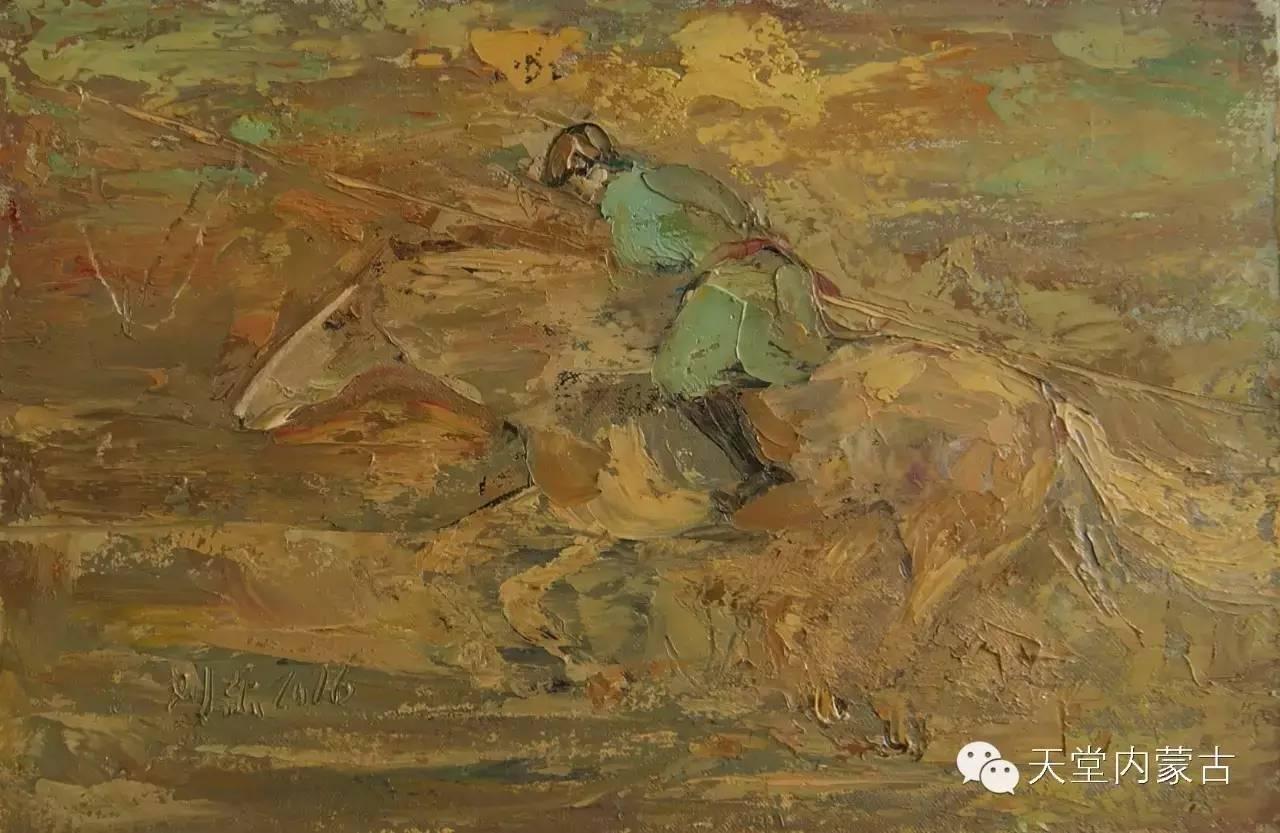 🔴内蒙古画家刘东油画作品 第3张 🔴内蒙古画家刘东油画作品 蒙古画廊