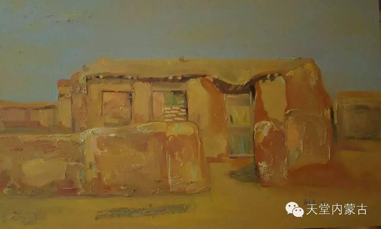 🔴内蒙古画家刘东油画作品 第10张 🔴内蒙古画家刘东油画作品 蒙古画廊