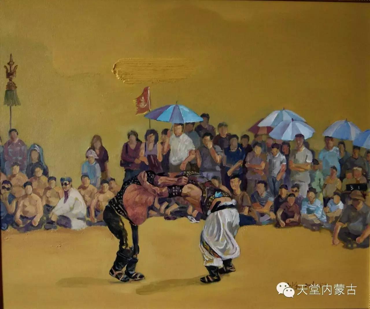 🔴内蒙古画家刘东油画作品 第8张 🔴内蒙古画家刘东油画作品 蒙古画廊