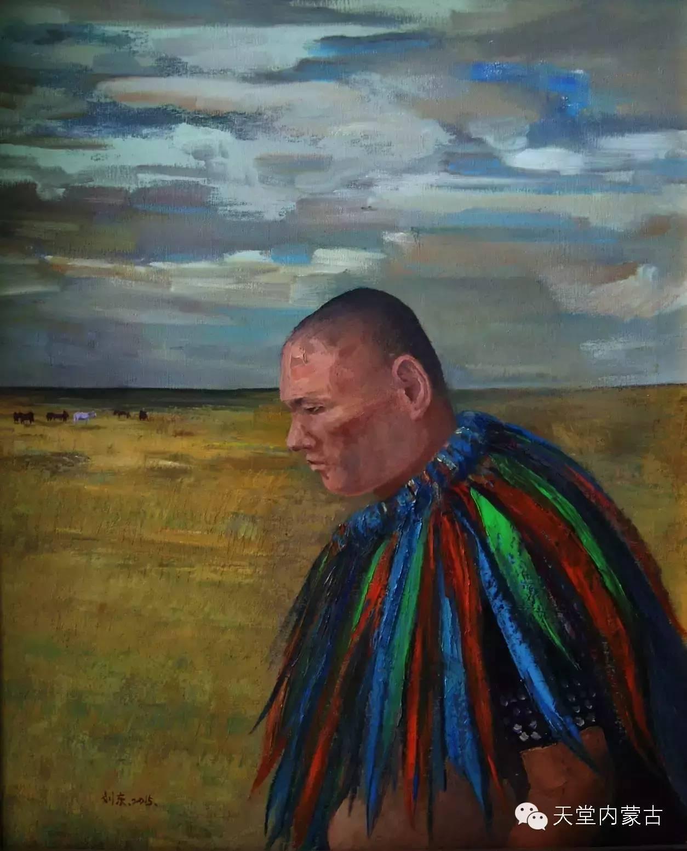 🔴内蒙古画家刘东油画作品 第11张 🔴内蒙古画家刘东油画作品 蒙古画廊