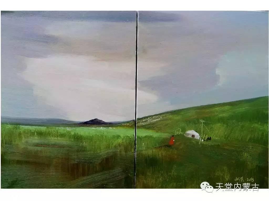 🔴内蒙古画家刘东油画作品 第14张 🔴内蒙古画家刘东油画作品 蒙古画廊