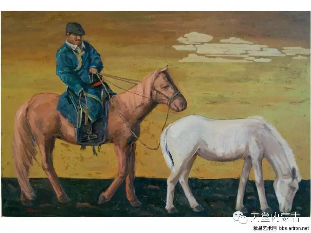 🔴内蒙古画家刘东油画作品 第21张 🔴内蒙古画家刘东油画作品 蒙古画廊