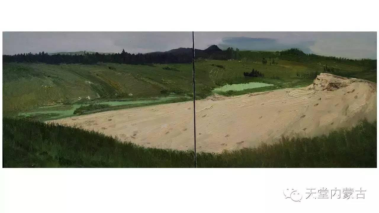 🔴内蒙古画家刘东油画作品 第19张 🔴内蒙古画家刘东油画作品 蒙古画廊