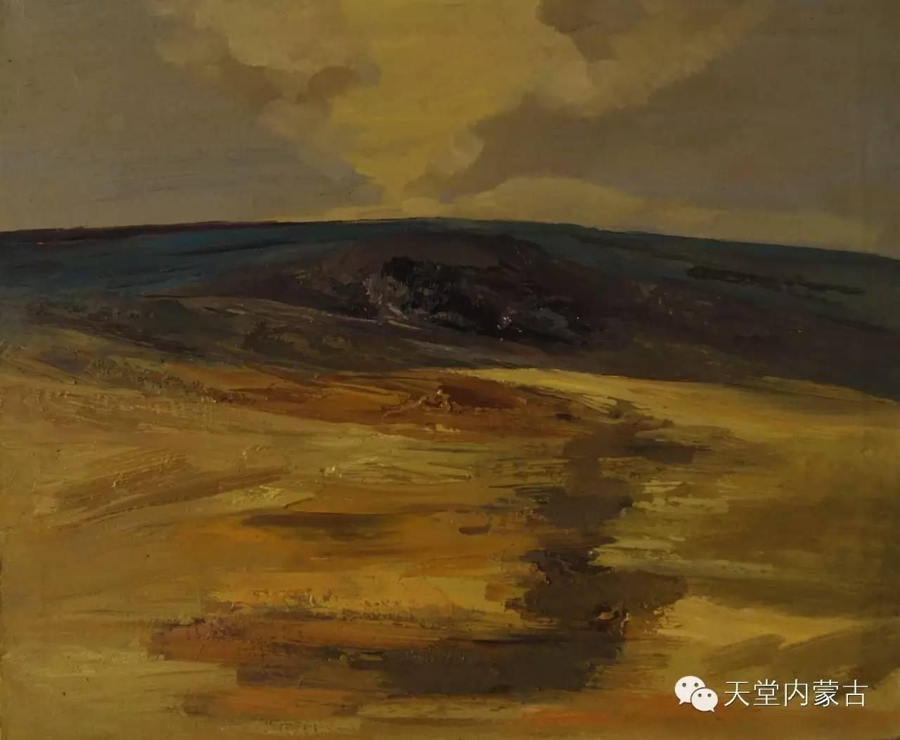 🔴内蒙古画家刘东油画作品 第23张 🔴内蒙古画家刘东油画作品 蒙古画廊