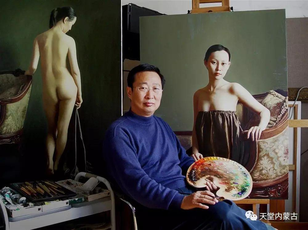 内蒙古画家——晓青油画作品欣赏 第1张 内蒙古画家——晓青油画作品欣赏 蒙古画廊