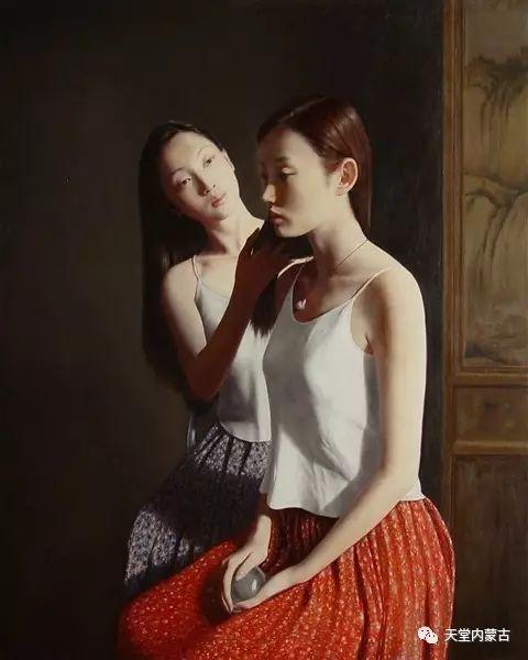 内蒙古画家——晓青油画作品欣赏 第5张 内蒙古画家——晓青油画作品欣赏 蒙古画廊