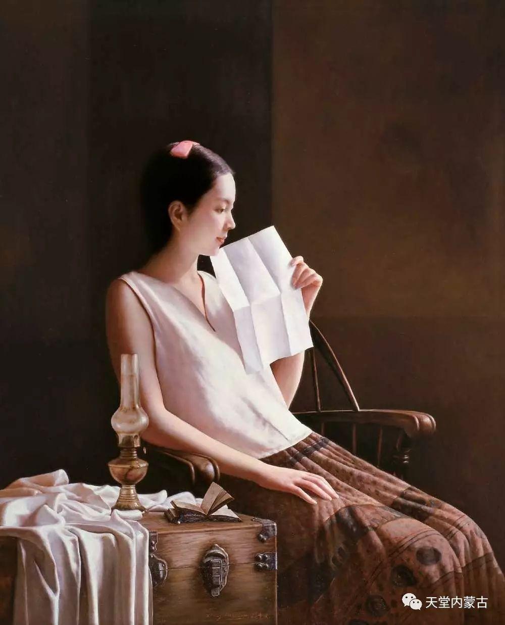 内蒙古画家——晓青油画作品欣赏 第2张 内蒙古画家——晓青油画作品欣赏 蒙古画廊