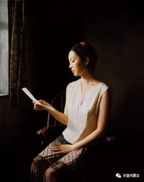 内蒙古画家——晓青油画作品欣赏 第4张 内蒙古画家——晓青油画作品欣赏 蒙古画廊