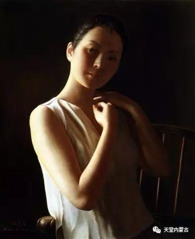 内蒙古画家——晓青油画作品欣赏 第9张 内蒙古画家——晓青油画作品欣赏 蒙古画廊