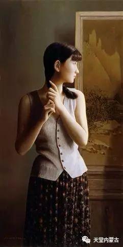 内蒙古画家——晓青油画作品欣赏 第10张 内蒙古画家——晓青油画作品欣赏 蒙古画廊