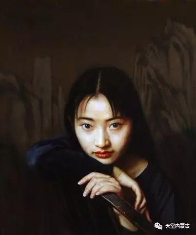 内蒙古画家——晓青油画作品欣赏 第15张 内蒙古画家——晓青油画作品欣赏 蒙古画廊
