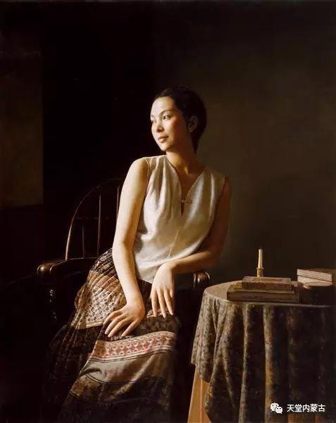内蒙古画家——晓青油画作品欣赏 第19张 内蒙古画家——晓青油画作品欣赏 蒙古画廊